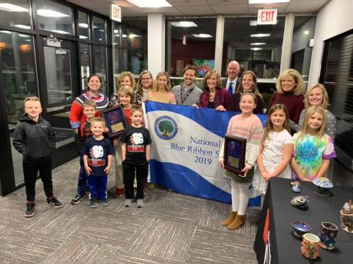 Roslyn Road Blue Ribbon School Board Honors - 1