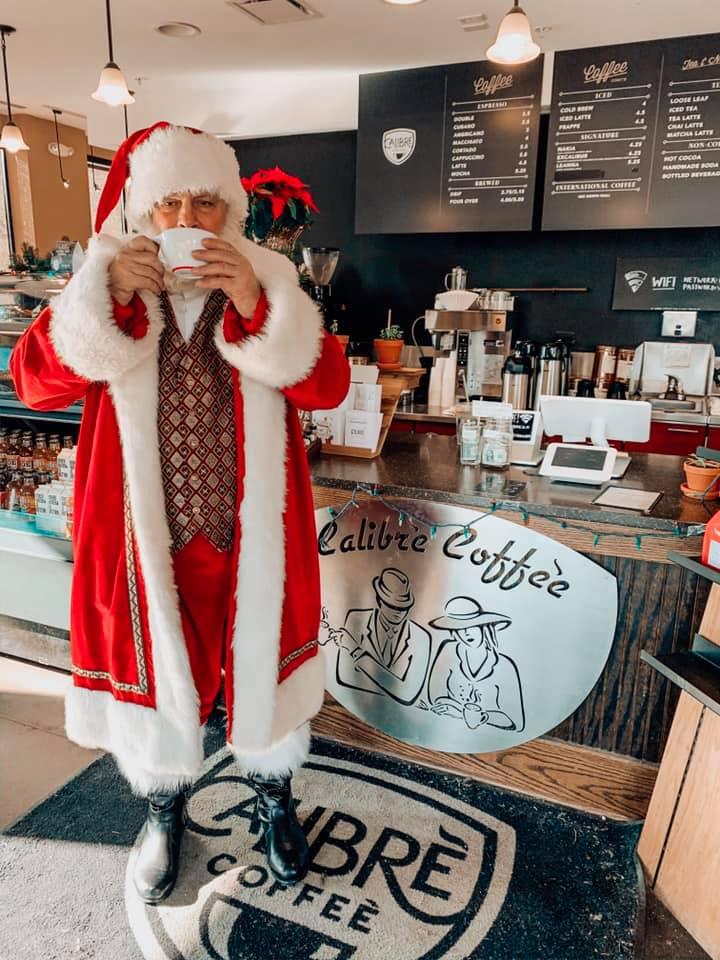 Arboretum of South Barrington - 12 Days of Christmas - Day 1 - Calibre Coffee - 1