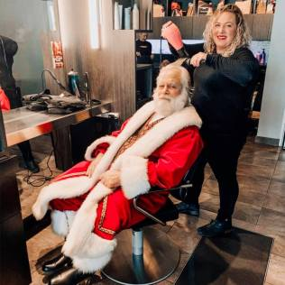Arboretum of South Barrington - 12 Days of Christmas - Day 9 - Spa Bleu Styling - 1