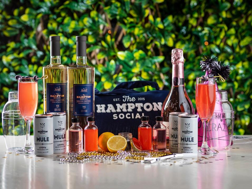 Hampton Social Glitter Bomb Cocktail Kit