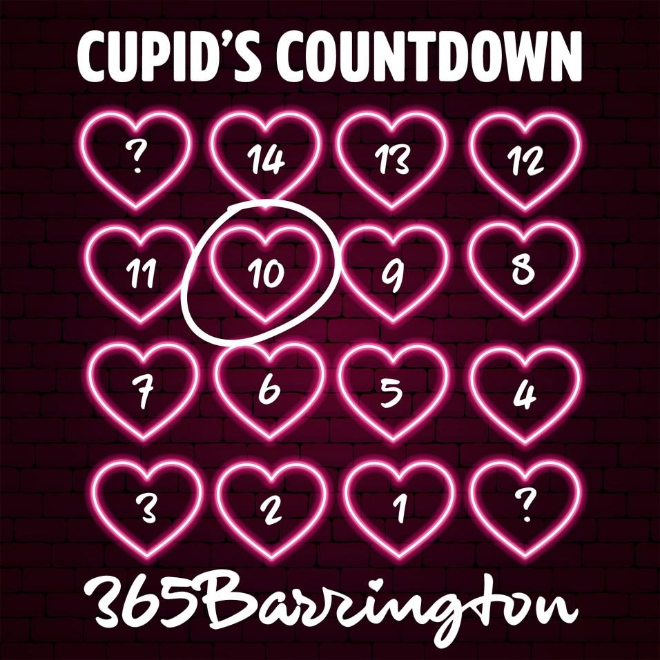 Cupid's Countdown - FULL CALENDAR - 10