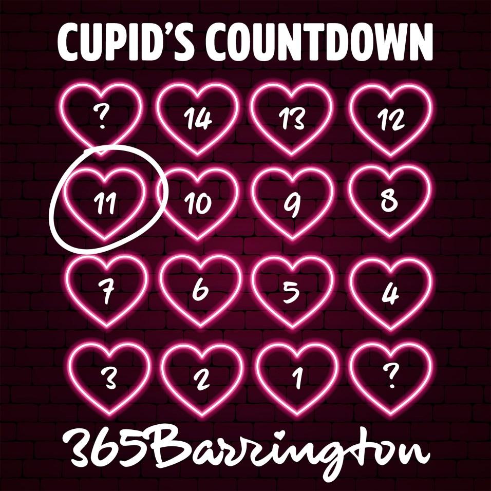 Cupid's Countdown - FULL CALENDAR - 11