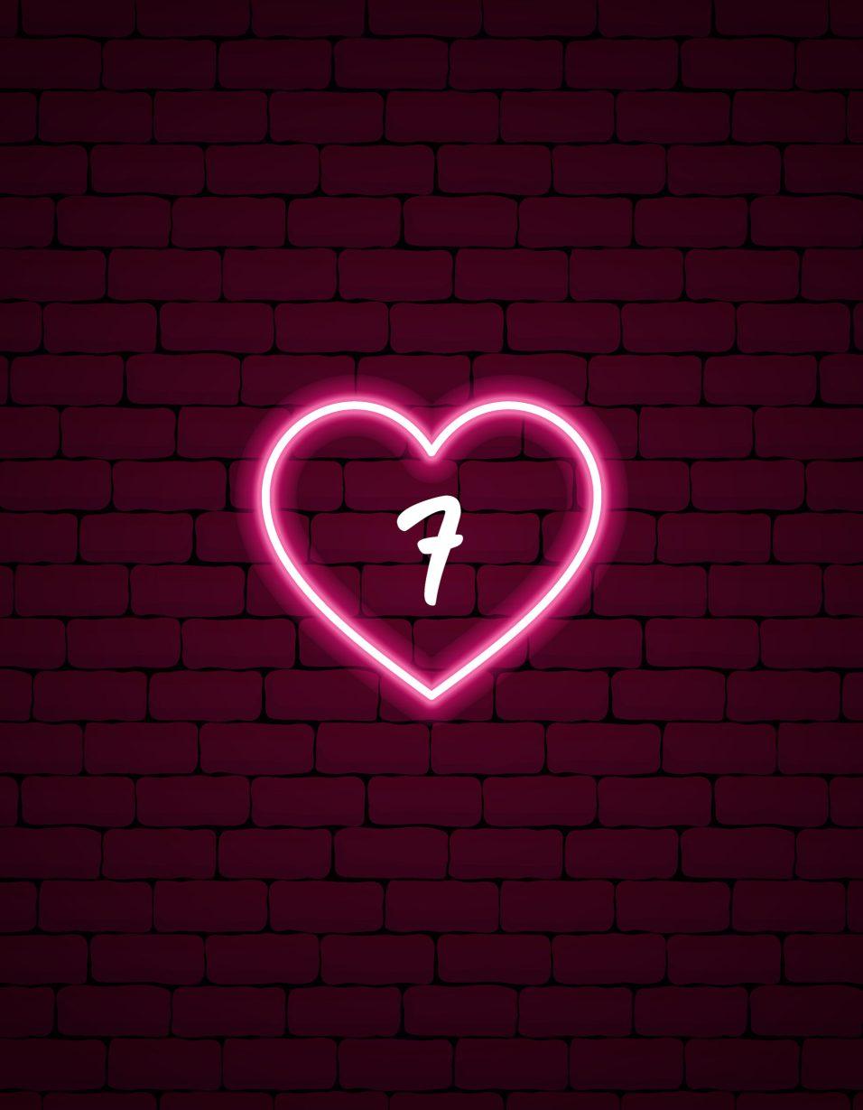 Cupid's Countdown - HEART - 7