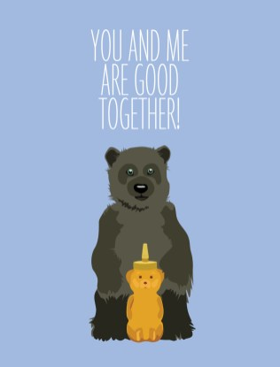 Norton's U.S.A. - Greeting Cards - Good Together