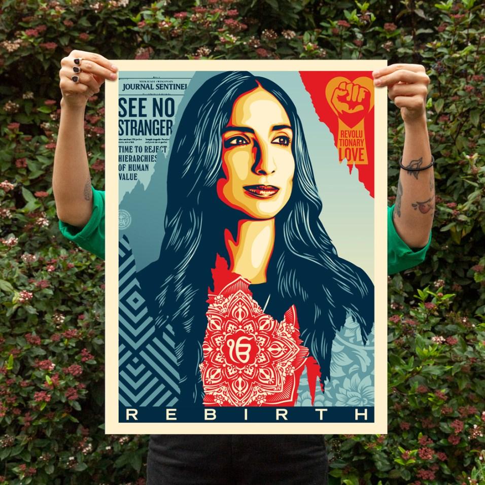 ValarieKaur_ShepardFairey_poster