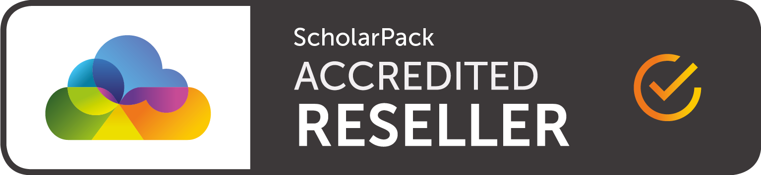Scholar Pack Authorised Reseller logo