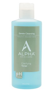 Alpha Skin Care Clarifying Toner Current Product Front