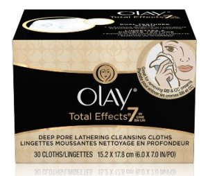 Olay Total Effects Deep Pore Lathering Cleansing Cloths