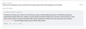 IT Cosmetics No-Tug Waterproof Gel Eyeliner Sharpener Issue 1