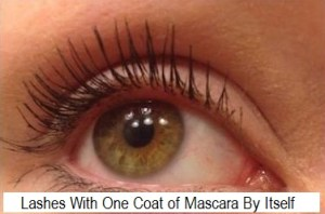 Lashes With Mascara By Itself