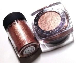 L'Oréal Paris Infallible 24 Hr Eye Shadow Amber Rush MAC Tan Dupe