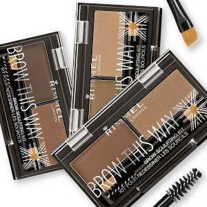 Rimmel London Brow This Way Brow Sculpting Kit Colors