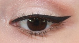 Wet N Wild H2O Proof Liquid Eyeliner On Eye