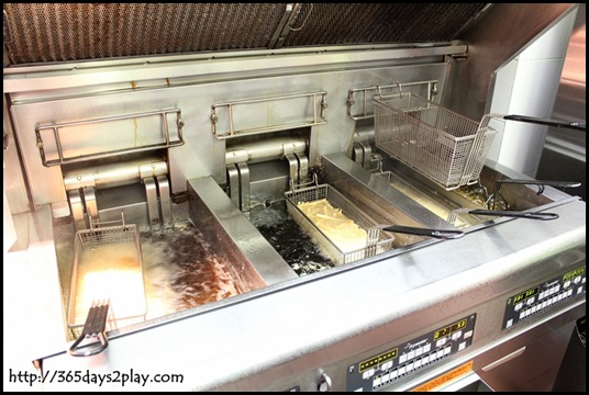 McDonald's - Frying Station