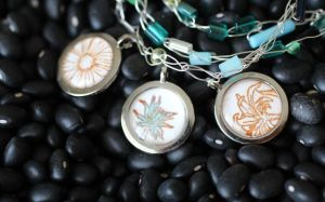 Epiphany Crafts stamped pendants