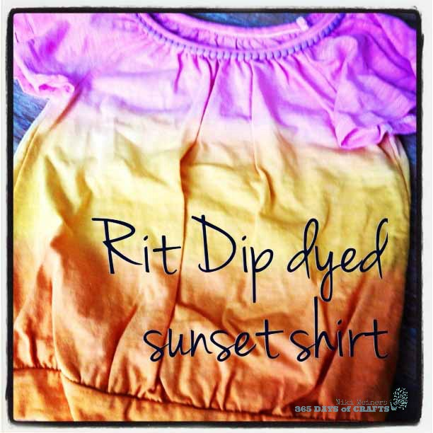 Rit Dip Dyed Sunset Shirt