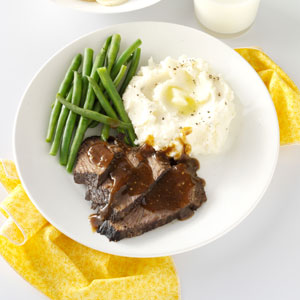 Taste of Home, Slow Cooker Recipes, Java Roast Beef