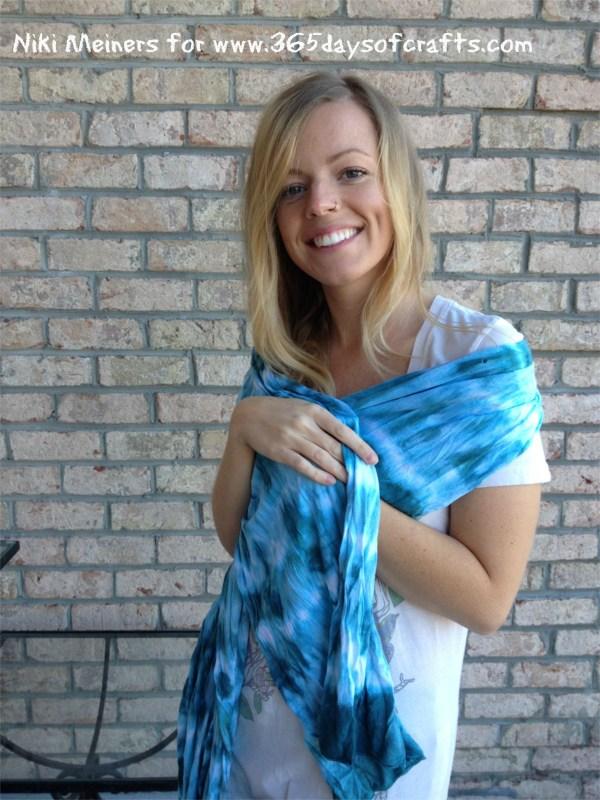 hand dyed shibori scarf shibori wrap