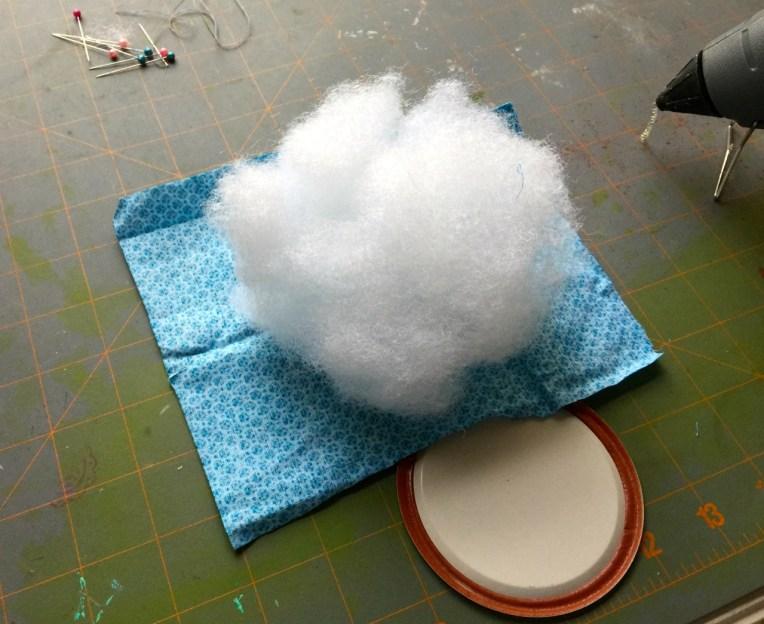 fiber fill pin cushion top