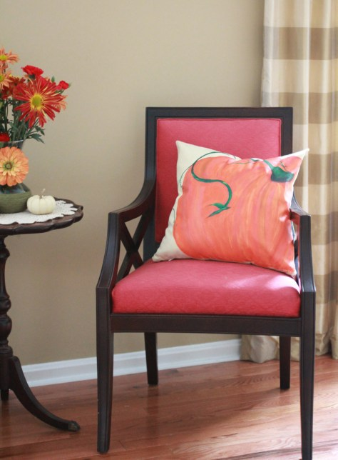 pottery barn pillow hack fall setting