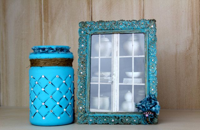 DIY Shabby Chic Picture Frame