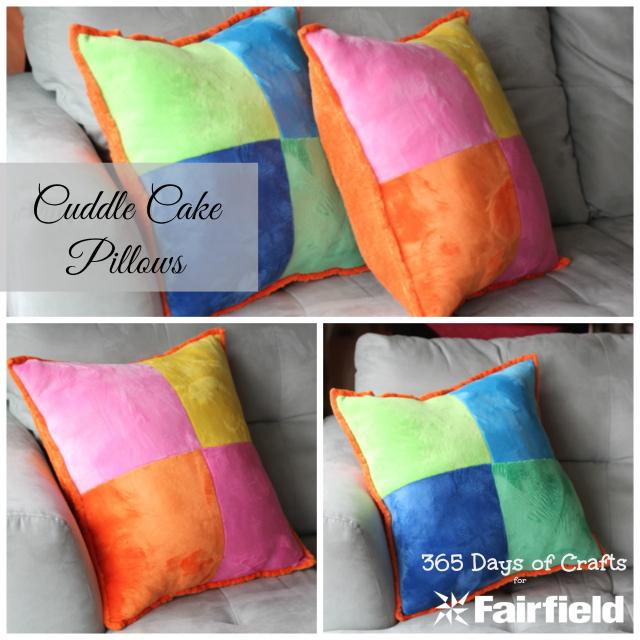 Cuddle Cake Pillows Collage
