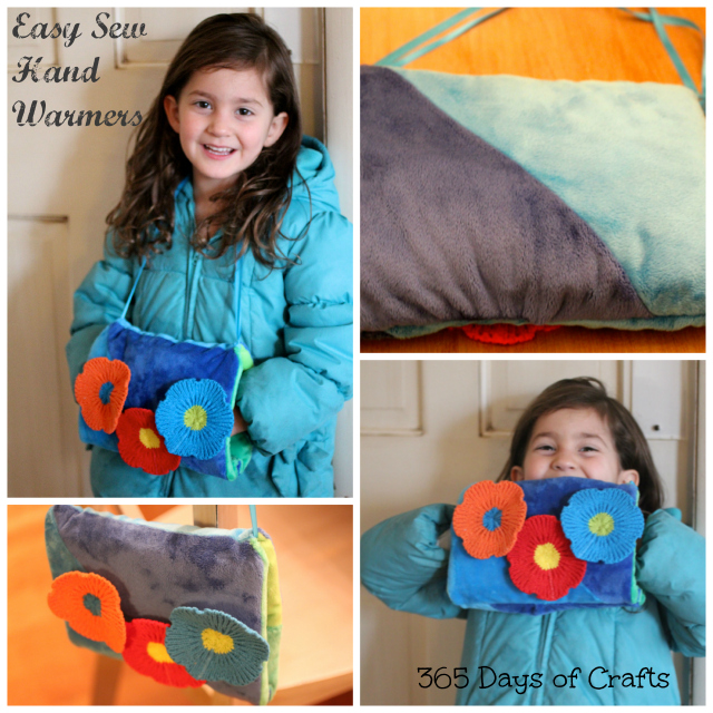 Easy Sew Hand Warmers Tutorial Muff