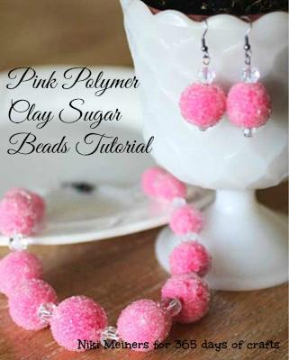 pink sugar beads set1