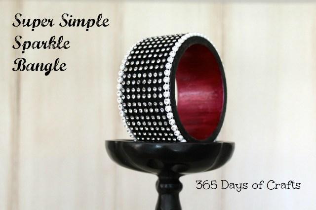 Crystal Bangle  super simple bangle bracelet