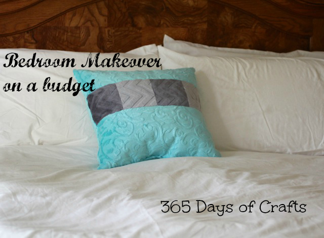 bedroom makeover on a budget silver cuddle pillow