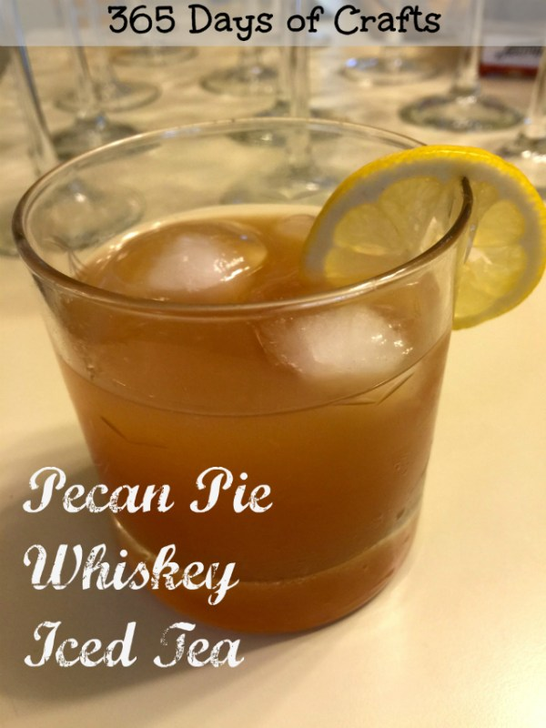 Pecan Pie Whiskey Iced Tea pecan pie iced tea cocktail