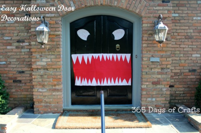 olyfun halloween front door decorations