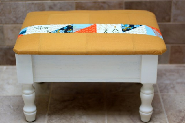 sewing stool step 7