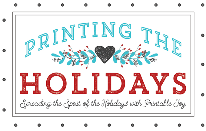 printing the holidays