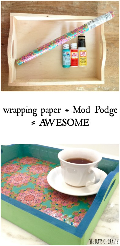 mod lodge serving tray