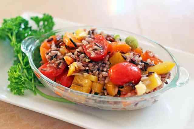 Wild Rice Salad | 365daysofeasyrecipes.com