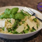 #10 – Orzo Salad with peas and asparagus