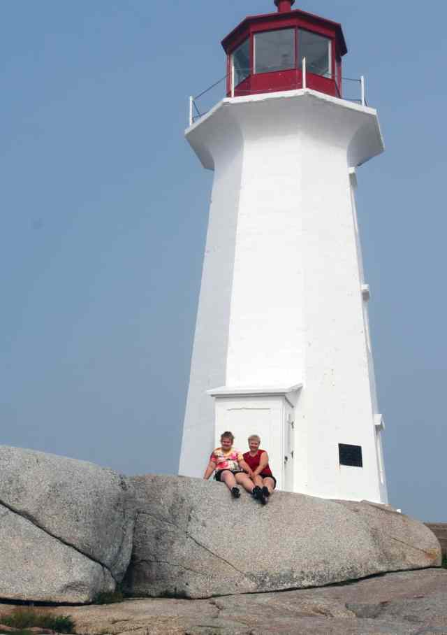 The light house at Peggy's Cove