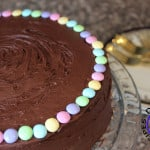 #39 – Chocolate Easter Cake with M&M's