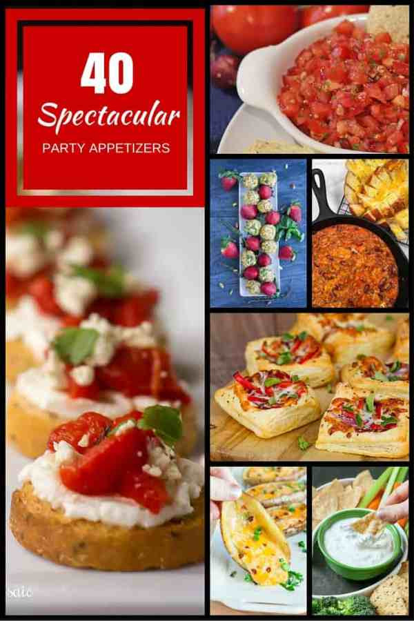 40 Spectacular Party Appetizers
