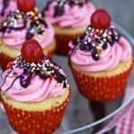#117 – Banana Milkshake Cupcakes