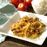 Unstuffed Cabbage Rolls Freezer Recipe