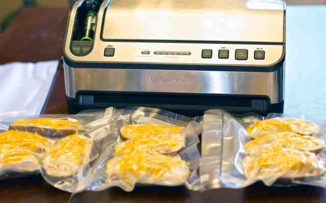 Bacon & Cheese Twice Baked Potatoes for the Freezer