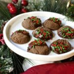 Planning A Christmas Cookie Party and Double Chocolate Mint Cookies