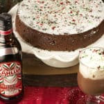 Peppermint Flourless Chocolate Cake