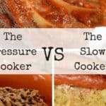Slow Cooker vs Pressure Cooker