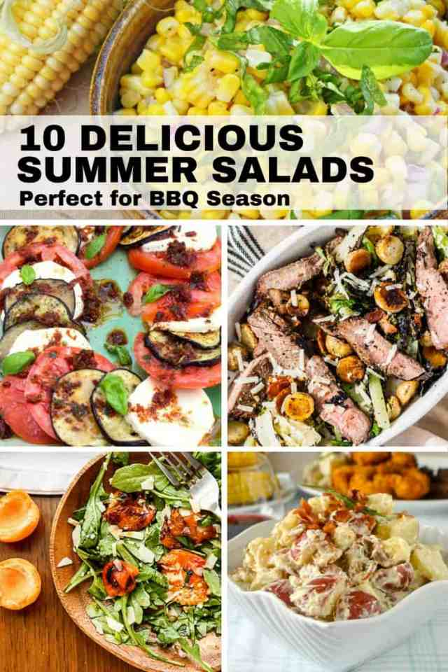 10 Delicious summer salads perfect for BBQ Season