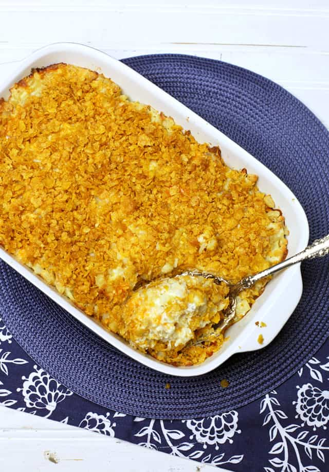 Baked Hash Brown Casserole for the Freezer | Virtual Freezer Meal Party