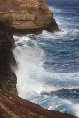 More waves crashing.