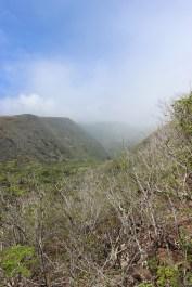 Ridge and valley behind the Heaiu.